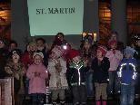 Kinder freuten sich auf den Einsatz ihrer selbst gebastelten Laternen