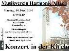 Konzert in der Kirche des MVH Altach am 14.11.2010, 17.00 Uhr