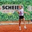 Melanie Pinkitz gab beim Turnier in Salzburg erst ein Game ab.
