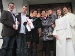 Melina Fröhle erhielt in der Pfarrkirche die Hl. Taufe