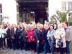 Rankweils Senioren vor dem Rolls-Royce Museum.
