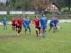 Sascha Hajek (vorne) im Spiel gegen den Rankweil 1b.