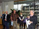 Seniorenstadträtin Elisabeth Mathis bei Eröffnung der Ausstellung.
