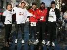 10 Jahre  Laufgruppe KRAFT beim Altacher Silvesterlauf