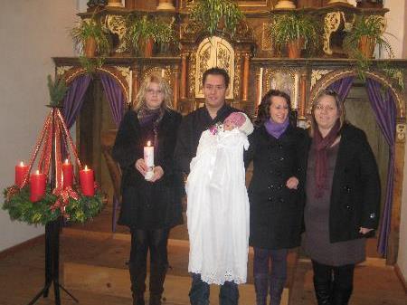 Chiara Dona wurde getauft.