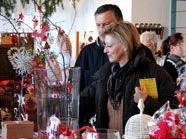 Die Einrichtung der Lebenshilfe Vorarlberg bot festliche Dekorations- und Geschenksideen.