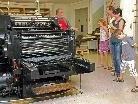 Die Zukunft des ersten österreichischen Buchdruckmuseums ist gefährdet.