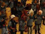 Die jungen Musiker aus Südafrika begeisterten das Publikum in Au.