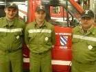 Feuerwehrleute aus Doren - Philipp Sinz, Jürgen Loacker und Wolfgang Giselbrecht
