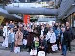 Begeistert wurde die Exkursion beim Paradeunternehmen Blum in Höchst aufgenommen
