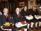 Bei der Jahreshauptversammlung wurden auch langjährige und verdienstvolle Musiker geehrt.