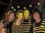 Beim Cineplexx Maskenball 12 gab es viele Biene Mayas und Willis