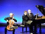 Cellist Mario Brunello und Pianist Andrea Lucchesini