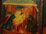 """Das Altarbild """"Marienleben"""" stammt von Prof. Max Spielmann aus Innsbruck."""