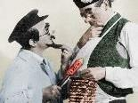 Das historisch echte Komikerpaar Karl Valentin und Liesl Karlstadt.