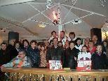 Die Gruppe Wirbelwind feierte gemeinsam Weihnachten.