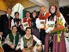 Die Trachtengruppe Schruns konnte zahlreiche verdiente Mitglieder bei der Jahreshauptversammlung ehren.