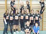 Die Volleyballerinnen der SMS Wolfurt freuen sich über ihre Erfolge.