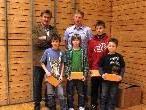 Die erfolgreichen BMX-Sportler wurden vom Verband ausgezeichnet.
