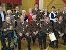 Egon Pühringer, Edi Siegl, Franz Rauscher, Christian und Helmut Riebelmann wurden geehrt.