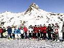 Gruppenfoto bei der Seniorenbund-Schiwoche in Damüls