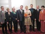 In der Villa Falkenhorst gaben sich Joanna Respondek und Rainer Krupalija das Jawort