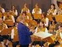Kapellmeister Franz Budin und seine Gemeindemusik wurden gefeiert.