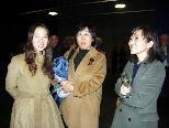 Koreanische Journalistinnen kamen zur Eröffnung