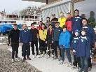 Lochauer Hobbyläufer treffen sich alljährlich zum Dreikönigslauf am See.