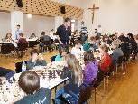 Mit 93 Teilnehmern war die diesjährige Nachwuchs-Schacholympiade bestens besetzt.