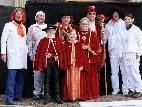 Prinz Pimsi mit Monika und den Infanten samt der abgesägten Gemeinderegierung.