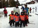 Spaß und Freude standen beim Skikurs des Schiclub Bürs im Vordergrund.