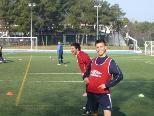 Stehn wieder im Training die Kicker vom FC Schruns