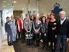 """Teilnehmer des EPS-Seminars im """"Seehotel Am Kaiserstrand"""" mit Prof. Dr. Maria Felberbauer und Prof. Arnold Gritsch."""