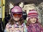 Unter idealen Wetterbedingungen begann am Montag Nachmittag der Skikurs der Volksschule Tschagguns.