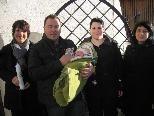 Yanik Pfefferkorn aus Ludesch wurde in der St. Vinerkirche getauft