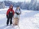 Zauberhafter Wintertag auf dem Bödele.