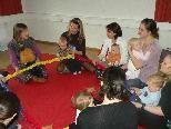 """Ab 24. Februar startet noch ein zusätzlicher Kurs für ganz junge """"Sänger"""" ab neun Monaten."""