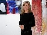 Caroline Rusch in ihrem Atelier am Pfänderhang.