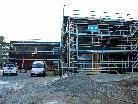 Die Bauarbeiten am neuen Kindergarten Wallenmahd laufen nach Plan.