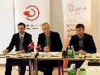 Landesstatthalter Mag. Markus Wallner, Dr. Hubert Löffler GF IfS-Familienarbeit, Manfred Brunner Obmann VGKK, Vorsitzender Fonds Gesundes Vorarlberg