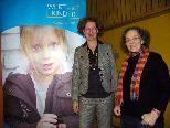 Mag. Theresia Sagmeister mit Referentin  Dr. Christiane Kohler-Weiss