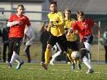 Stürmer Franco Joppi zeigte wie seine Teamkollegen in Altach eine starke Partie.
