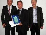 Auszeichnung für  Jürg Hagleitner von der Firma Kiechel & Hagleitner