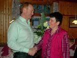 Bgm. Flatz bedankte sich bei Barbara für die Arbeit in den letztzen 44 Jahren.