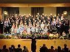 Der Bildsteiner Chor sang gemeinsam mit dem Kinderchor.