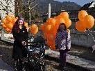 Der VgT Vorarlberg schickte 278 Luftballons in den Himmel.