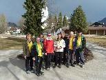 Gruppenbild der Wanderfreunde Götzis vor der Wanderung
