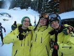 Stolze Übungsleiter Maurice, Maximilian und Kevin