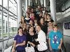 4a-Klasse der VMS Hasenfeld im Medienhaus